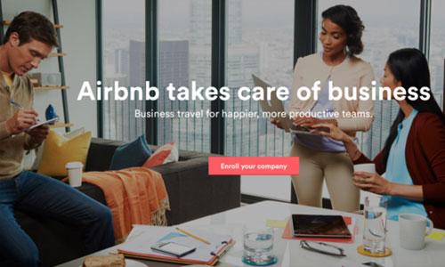 酒店要当心了:Airbnb 加紧争夺商务旅客
