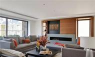 点亮温暖家居空间 简约风复式公寓设计