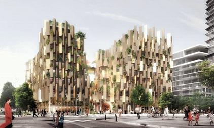 隈研吾新作巴黎可持续创新酒店预计2022年开业