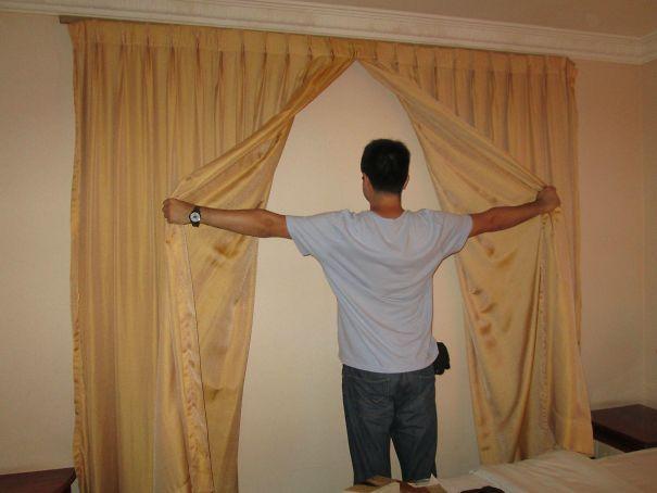 我想知道,这个窗帘的作用,就是为了骗钱的吗?