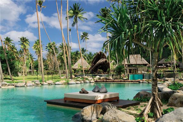 位于斐济Taveuni岛的另一个私人岛屿度假胜地Laucala Resort 以每晚5700美元的价格排名第二。 2. 斐济Laucala Resort (Taveuni, Fiji) $5,700