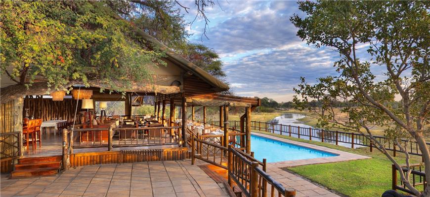 3. 博茨瓦纳奥卡万戈三角洲 Khwai River Lodge (Okavango Delta, Botswana) $4,710