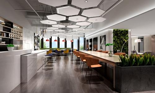 FUNWORK携手绿地打造郑州地标式联合办公空间
