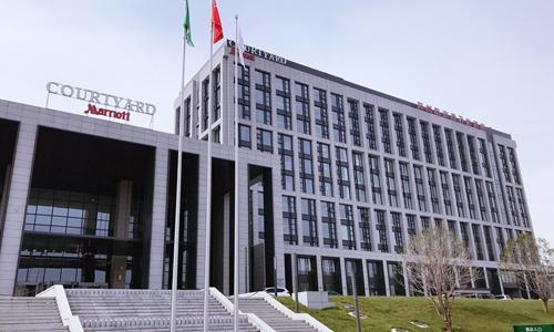 郑州航空港万怡酒店于12月16日正式开业