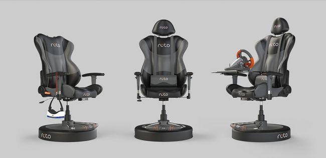 Roto VR推出互动座椅 VR还能这么玩