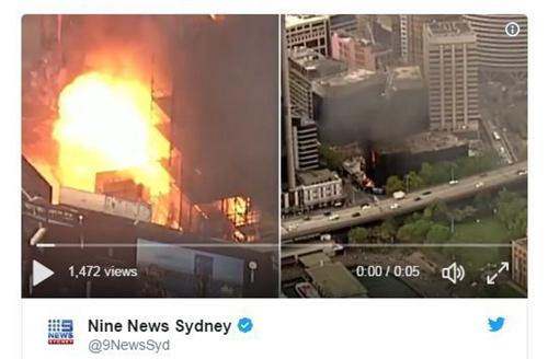 万达刚出售的悉尼酒店公寓项目起火